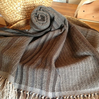 Bark and Bolete Blanket Scarf Shawl Wrap