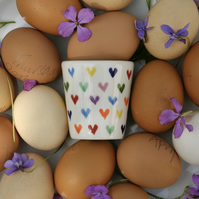 Love Hearts Egg Cup