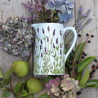 Lavender Farmhouse Jug