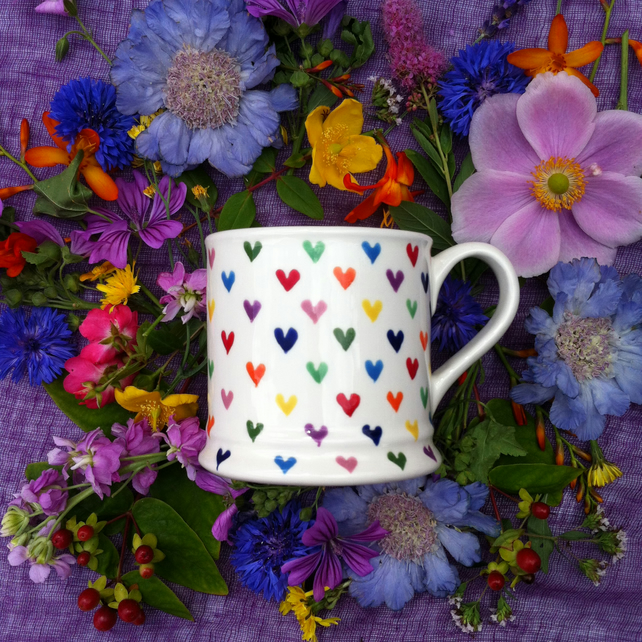 Love Hearts Country Mug