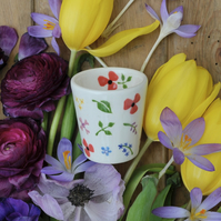 Wild Flowers Egg Cup