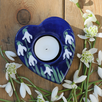 Snowdrop Tea Light Holder