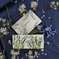 Bluebell Butter Dish
