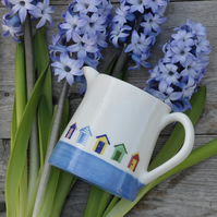 Beach Hut Milk Jug