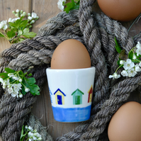 Beach Hut Egg Cup