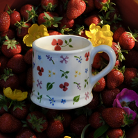 Wild Flowers Country Mug