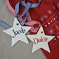 Personalised Christmas Star