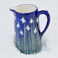 Snowdrop Farmhouse Jug