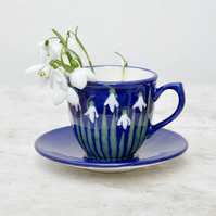 Snowdrop Cup and Saucer