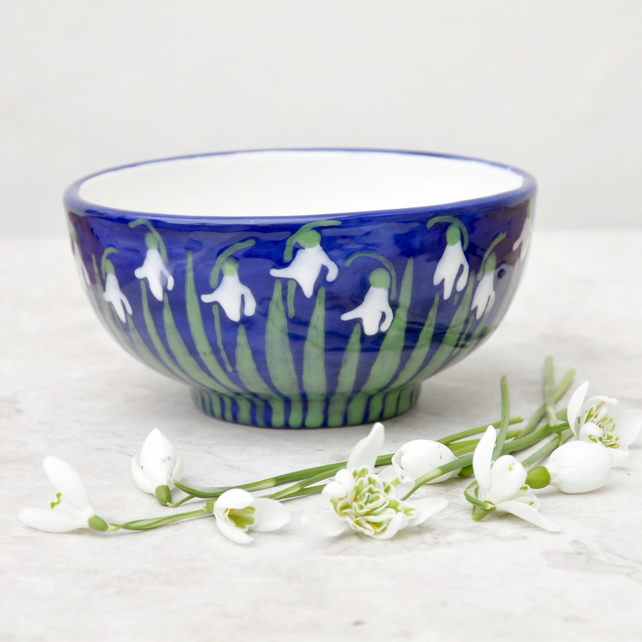 Snowdrop Cereal Bowl
