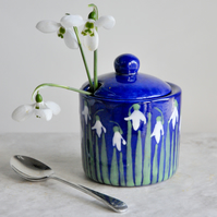 Snowdrop Sugar Pot