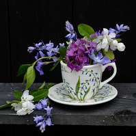 Bluebell Cup and Saucer