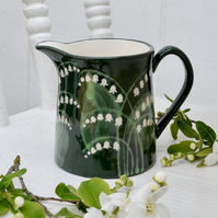 Lily of the Valley Milk Jug