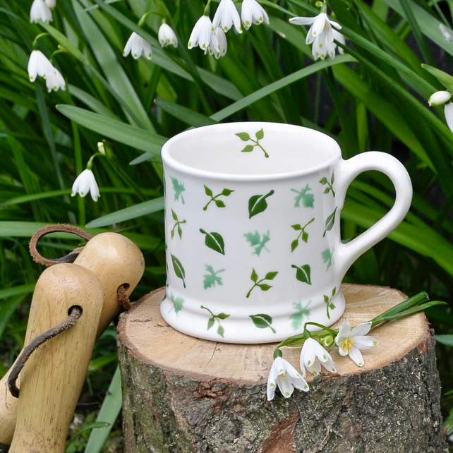Garden Herbs Country Mug