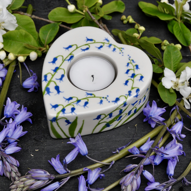 Bluebell Tea Light Holder
