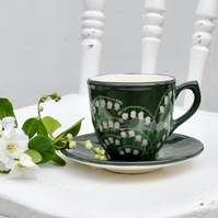 Lily of the Valley Cup and Saucer