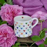 Love Hearts Little Mug