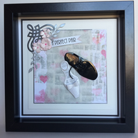 Wedding shoes box frame