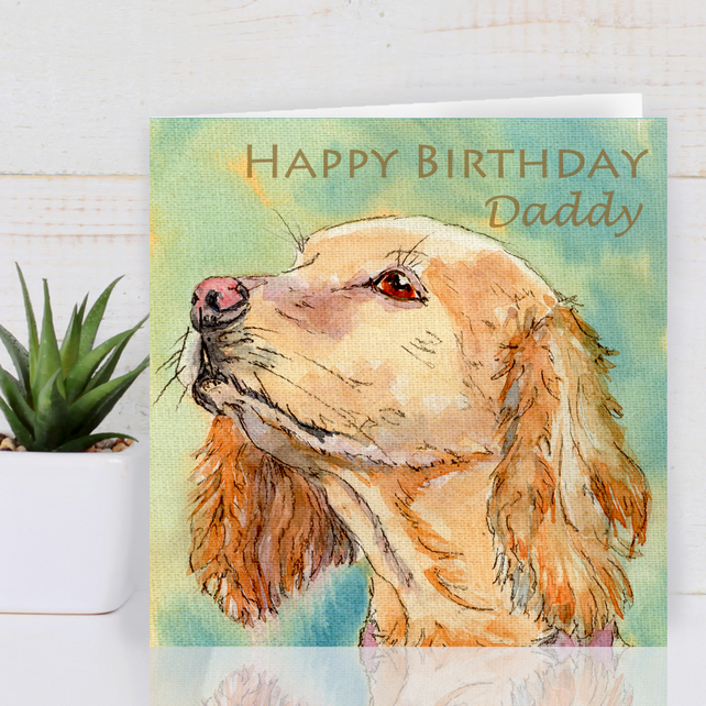 Personalised Dog Greeting Card For Any Occasion