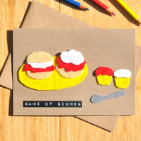 Game of Thrones card 'Game of Scones'