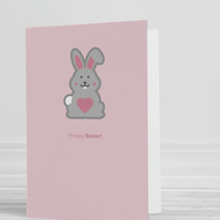 Hoppy Easter Blank Greeting Card