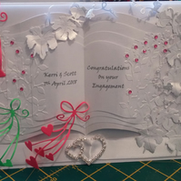 Engagement Card - Special Couple - Handmade and Personalised
