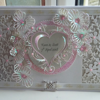 Engagement Card - Handmade and Personalised