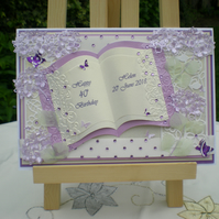 Birthday Card  - Handmade and Personalised