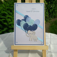 Children's Birthday Card - Handmade and Personalised