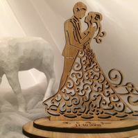 Personalised Engraved Mr Mrs Statue