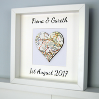 Heart Map, Personalised Memory Map, Personalised Heart Map