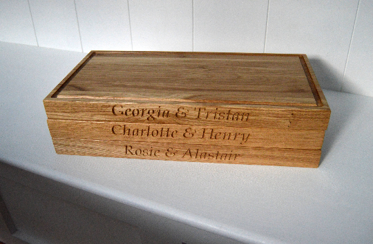 Solid Oak Chopping Board, Personalised Chopping Board, Chopping Board, 39x26x4cm