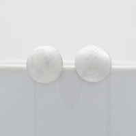 Minimalist Sterling Silver Stud Earrings