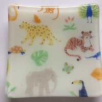 Zoo Animal Trinket Dish