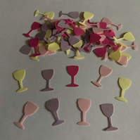 Wine Glass Table Confetti  ( 200 glasses per pack )
