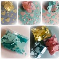 Love Heart Table Sprinkle Table Confetti 400 Per Pack