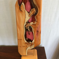 English yew wood sculpture