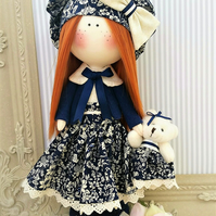 Rag dolls Fabric doll Tilda doll Cloth Doll Ooak doll