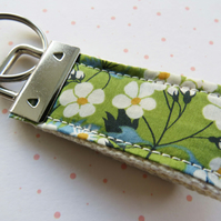 Liberty Key Fob, Tana Lawn, Key ring