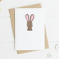 Cute Bunny Card