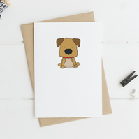 Cute Terrier Card