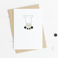 Cute Sheep Card