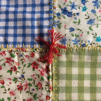 Patchwork Quilt, The Garden Party