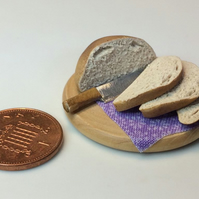 Dolls House Miniature Food - 1:12 Scale,  Daily Bread