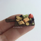 Dollhouse Miniature Food- Cheeseboard with Fruits -1:12th Scale