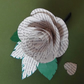 LIterary Love Buttonhole Book Page Rose Corsage Choice of Authors is available