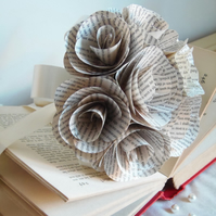 Classic Book Page Bouquet