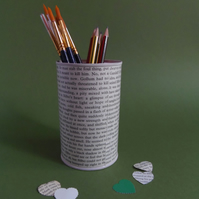 THE HOBBIT Decoupage PENCIL POT Desk Tidy Tolkien