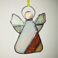 Stained Glass Modern Christmas Angel, Christmas Tree,Decoration