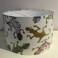 Gecko Green Lampshade 30cm